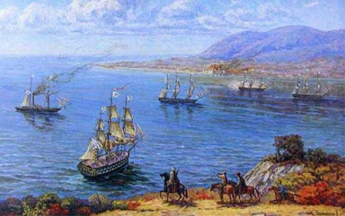 Новороссийск бухта